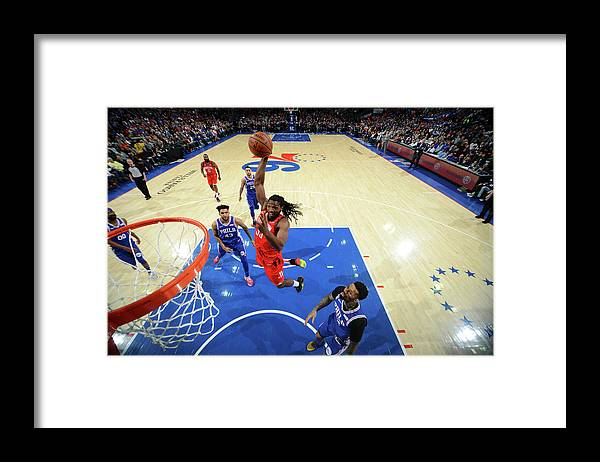Nba Pro Basketball Framed Print featuring the photograph Kenneth Faried by Jesse D. Garrabrant