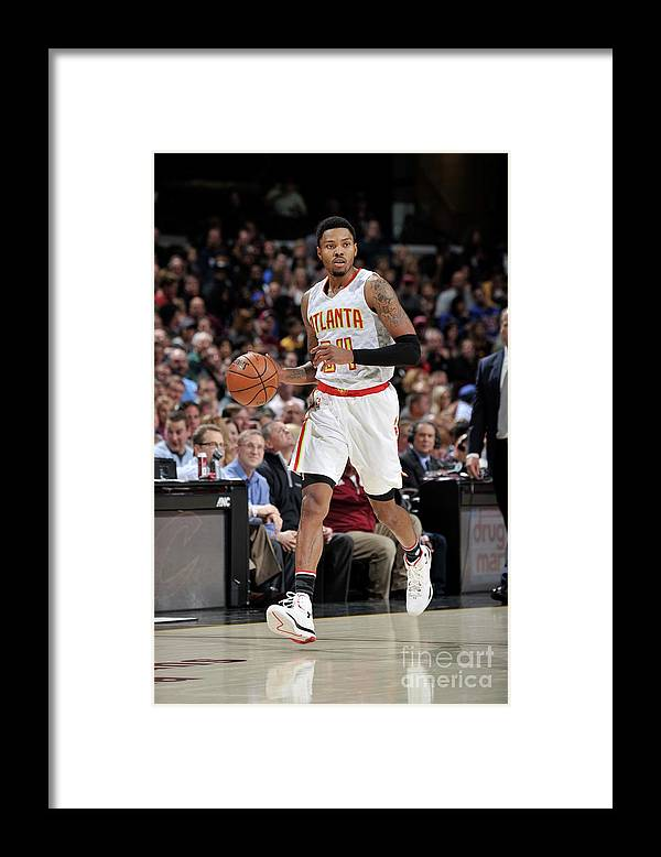 Nba Pro Basketball Framed Print featuring the photograph Kent Bazemore by David Liam Kyle
