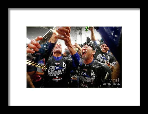 Championship Framed Print featuring the photograph Kenta Maeda by Jamie Squire