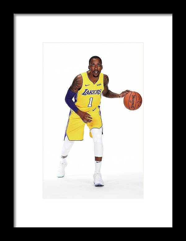 Media Day Framed Print featuring the photograph Kentavious Caldwell-pope by Andrew D. Bernstein