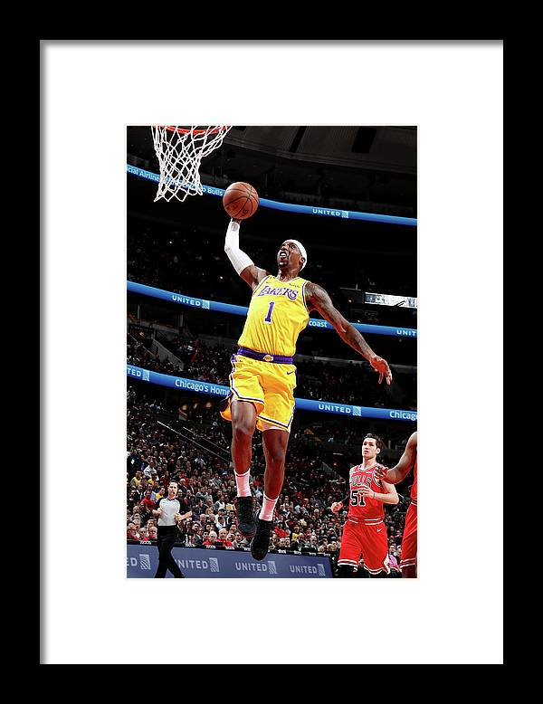 Nba Pro Basketball Framed Print featuring the photograph Kentavious Caldwell-pope by Nathaniel S. Butler