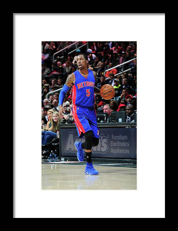 Atlanta Framed Print featuring the photograph Kentavious Caldwell-pope by Scott Cunningham