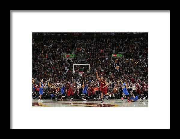 Nba Pro Basketball Framed Print featuring the photograph Kevin Durant and Richard Jefferson by David Sherman