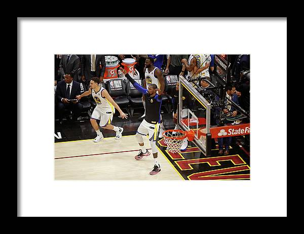 Playoffs Framed Print featuring the photograph Kevin Durant by Mark Blinch