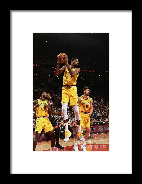Nba Pro Basketball Framed Print featuring the photograph Kevin Durant by Ron Turenne
