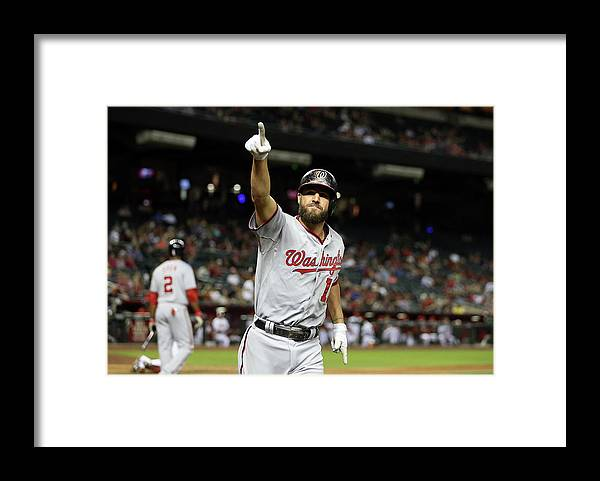 Ninth Inning Framed Print featuring the photograph Kevin Frandsen by Christian Petersen