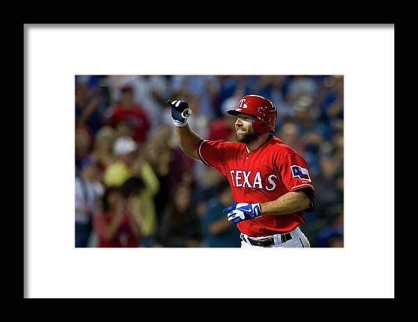 American League Baseball Framed Print featuring the photograph Kevin Kouzmanoff by Cooper Neill