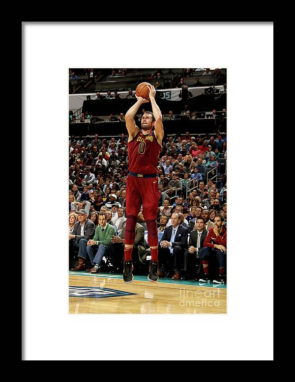 Nba Pro Basketball Framed Print featuring the photograph Kevin Love by Brock Williams-smith