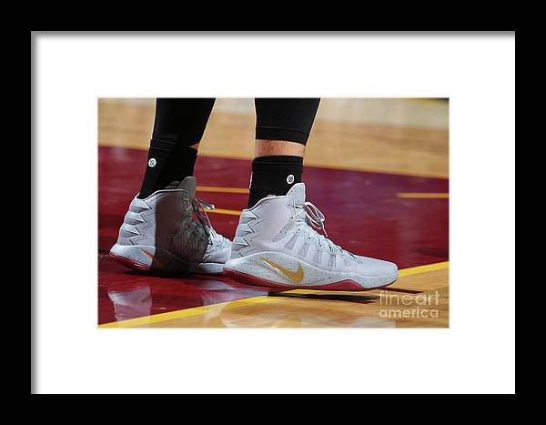 Nba Pro Basketball Framed Print featuring the photograph Kevin Love by Nathaniel S. Butler