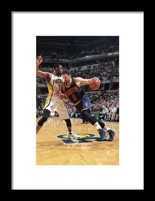 Playoffs Framed Print featuring the photograph Kevin Love by Ron Hoskins