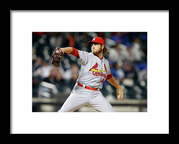 St. Louis Cardinals Framed Print featuring the photograph Kevin Siegrist by Jim Mcisaac