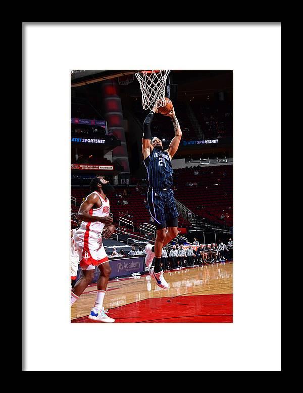 Nba Pro Basketball Framed Print featuring the photograph Khem Birch by Cato Cataldo