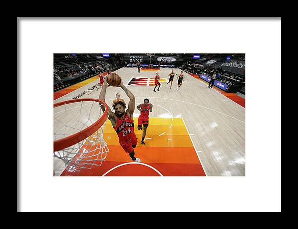 Nba Pro Basketball Framed Print featuring the photograph Khem Birch by Melissa Majchrzak