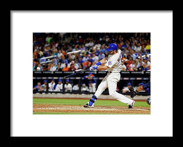 Scoring Framed Print featuring the photograph Kirk Nieuwenhuis by Jim Mcisaac