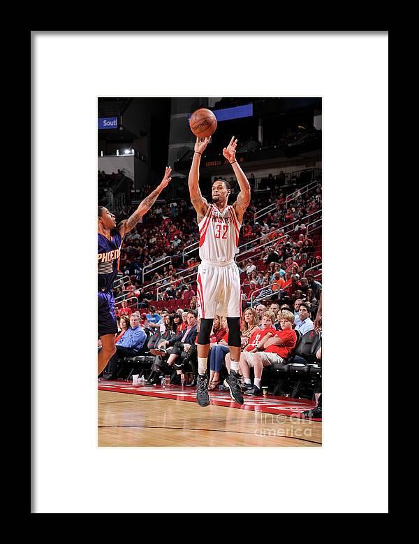 Nba Pro Basketball Framed Print featuring the photograph K.j. Mcdaniels by Bill Baptist