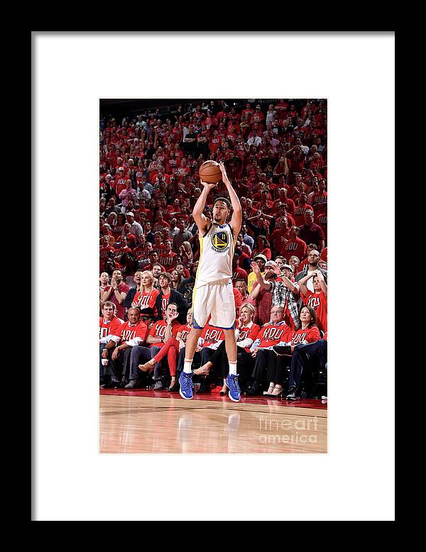 Playoffs Framed Print featuring the photograph Klay Thompson by Bill Baptist