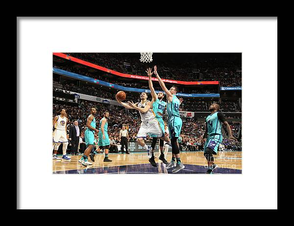 Nba Pro Basketball Framed Print featuring the photograph Klay Thompson by Kent Smith