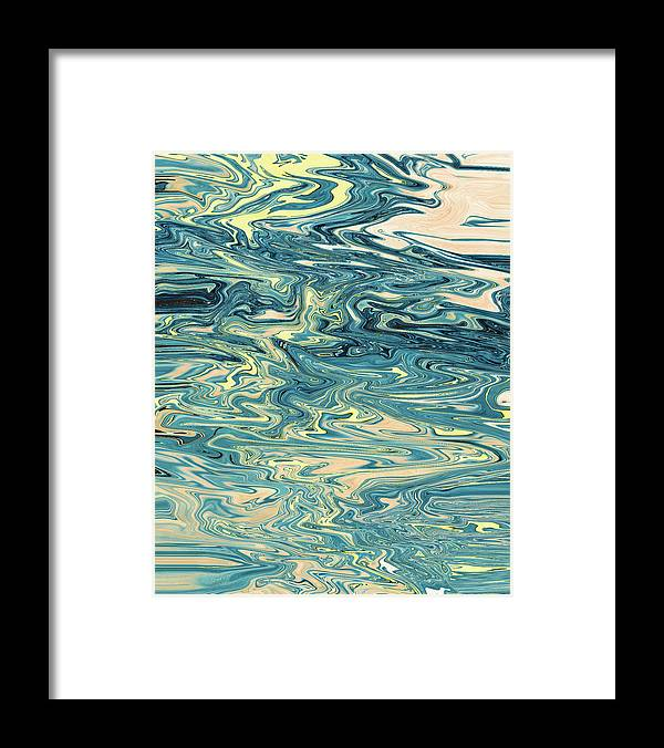 Abstract Framed Print featuring the digital art Knights of Mind Magic by Jack Entropy