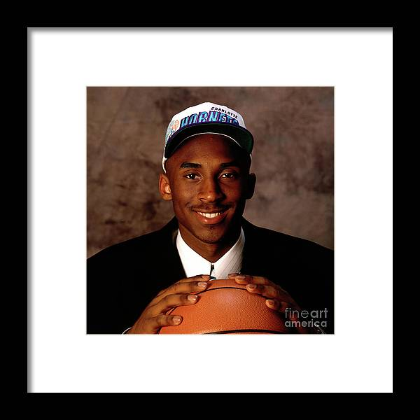 Nba Pro Basketball Framed Print featuring the photograph Kobe Bryant by Andy Hayt