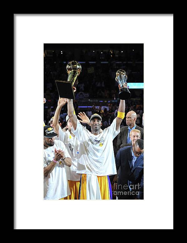Playoffs Framed Print featuring the photograph Kobe Bryant by Jesse D. Garrabrant