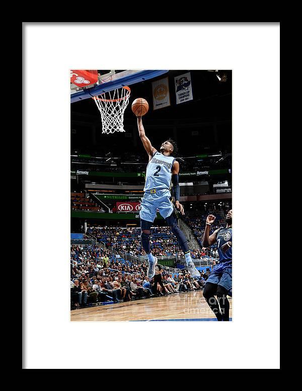 Nba Pro Basketball Framed Print featuring the photograph Kobi Simmons by Fernando Medina