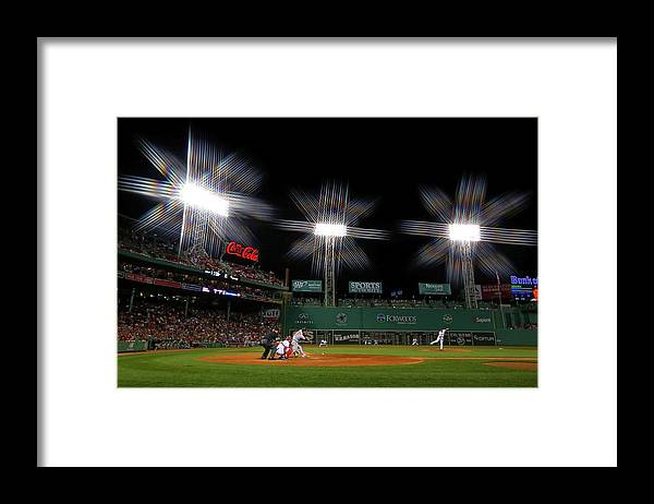 Ninth Inning Framed Print featuring the photograph Koji Uehara by Winslow Townson