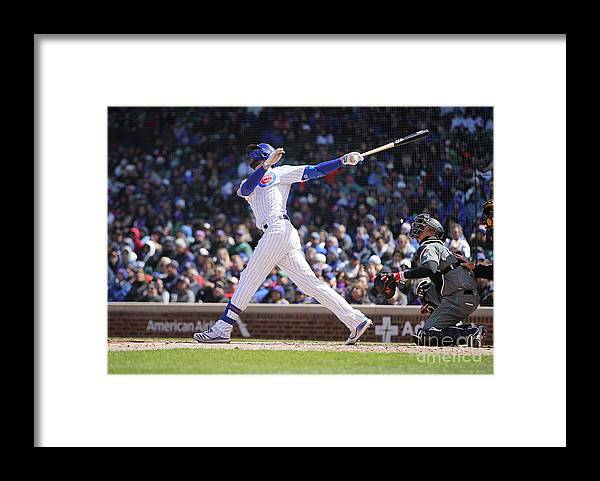 People Framed Print featuring the photograph Kris Bryant by Nuccio Dinuzzo