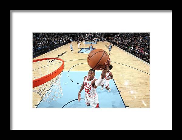 Chicago Bulls Framed Print featuring the photograph Kris Dunn by Joe Murphy