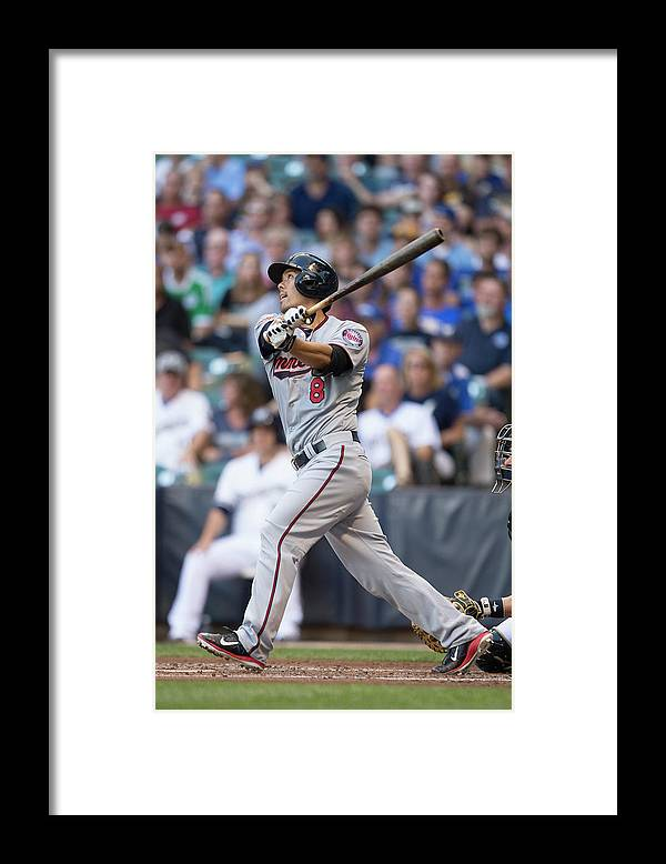 American League Baseball Framed Print featuring the photograph Kurt Suzuki by Mike Mcginnis