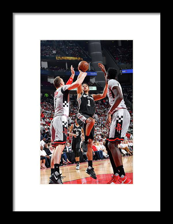 Playoffs Framed Print featuring the photograph Kyle Anderson by Jesse D. Garrabrant
