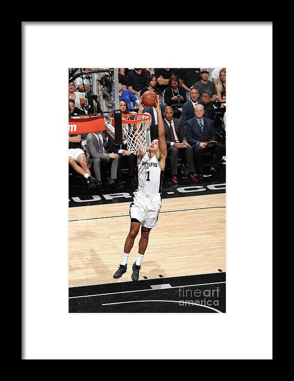 Playoffs Framed Print featuring the photograph Kyle Anderson by Joe Murphy
