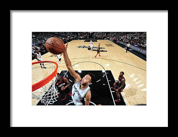 Playoffs Framed Print featuring the photograph Kyle Anderson by Mark Sobhani