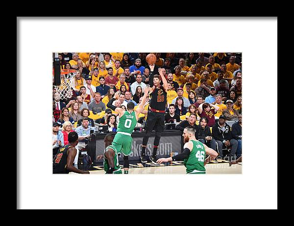 Playoffs Framed Print featuring the photograph Kyle Korver by Brian Babineau