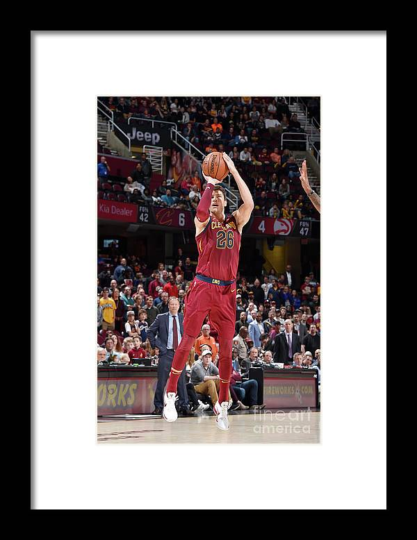 Nba Pro Basketball Framed Print featuring the photograph Kyle Korver by David Liam Kyle