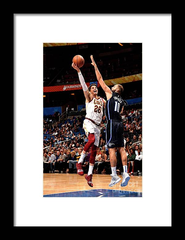 Nba Pro Basketball Framed Print featuring the photograph Kyle Korver by Gary Bassing