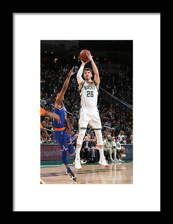 Nba Pro Basketball Framed Print featuring the photograph Kyle Korver by Gary Dineen