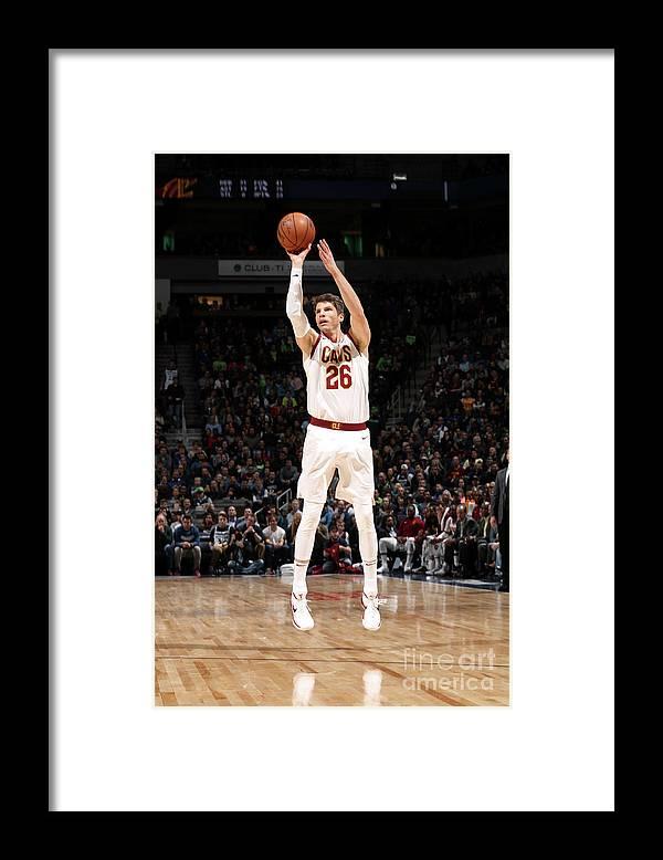 Nba Pro Basketball Framed Print featuring the photograph Kyle Korver by Jordan Johnson