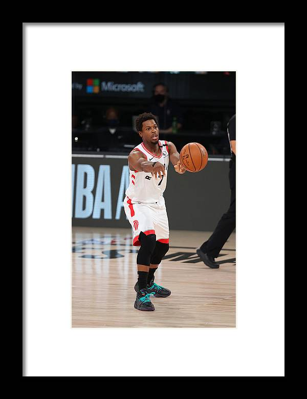 Nba Pro Basketball Framed Print featuring the photograph Kyle Lowry by David Sherman