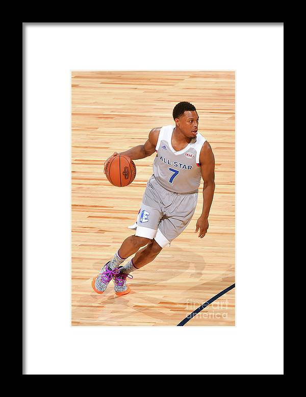 People Framed Print featuring the photograph Kyle Lowry by Jesse D. Garrabrant
