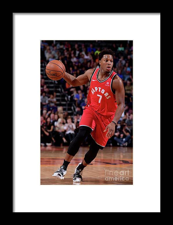 Nba Pro Basketball Framed Print featuring the photograph Kyle Lowry by Michael Gonzales