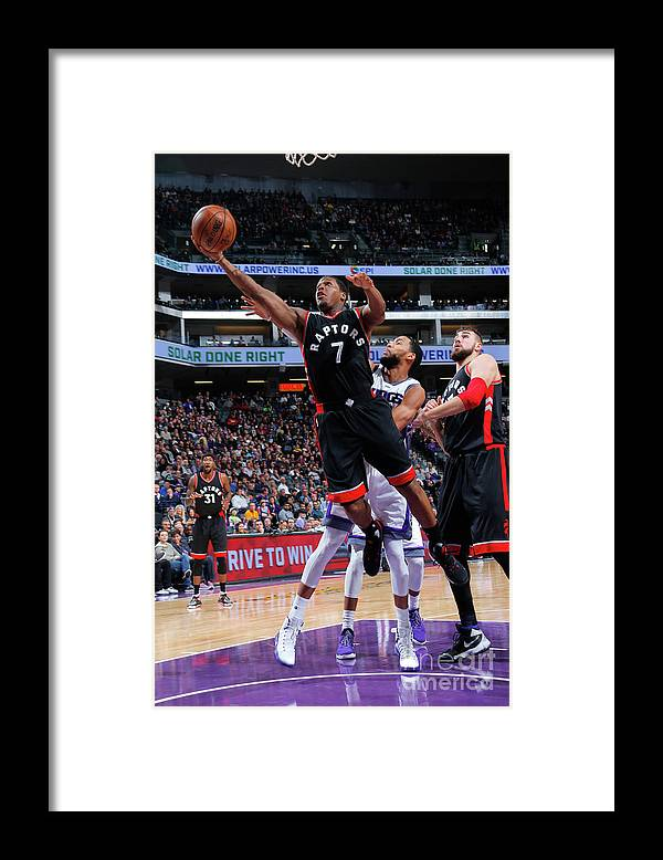 Nba Pro Basketball Framed Print featuring the photograph Kyle Lowry by Rocky Widner