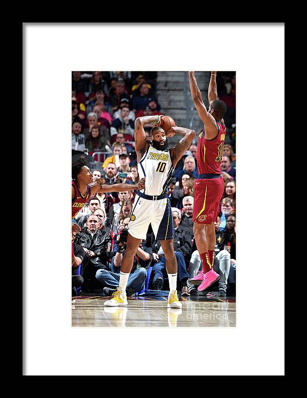 Nba Pro Basketball Framed Print featuring the photograph Kyle O'quinn by David Liam Kyle