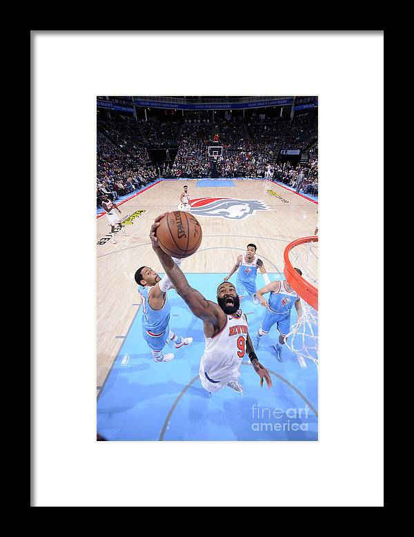 Nba Pro Basketball Framed Print featuring the photograph Kyle O'quinn by Rocky Widner