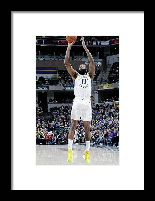 Nba Pro Basketball Framed Print featuring the photograph Kyle O'quinn by Ron Hoskins