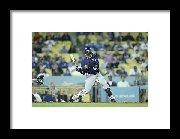 Kyle Parker Framed Print featuring the photograph Kyle Parker by Stephen Dunn