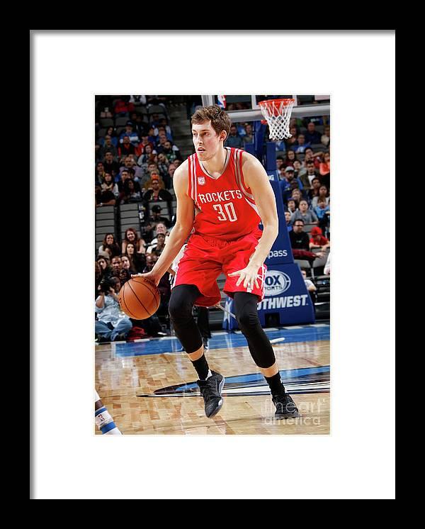 Nba Pro Basketball Framed Print featuring the photograph Kyle Wiltjer by Glenn James