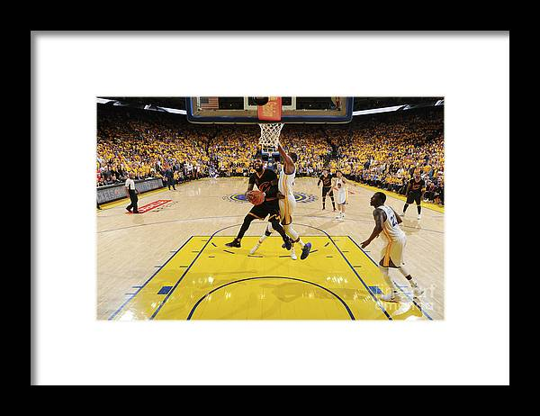 Playoffs Framed Print featuring the photograph Kyrie Irving by Andrew D. Bernstein