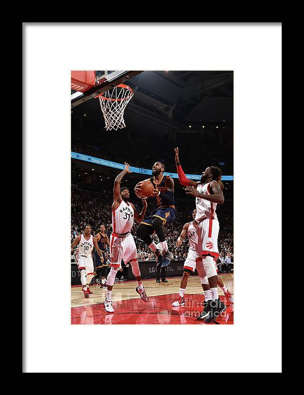 Nba Pro Basketball Framed Print featuring the photograph Kyrie Irving by Ron Turenne