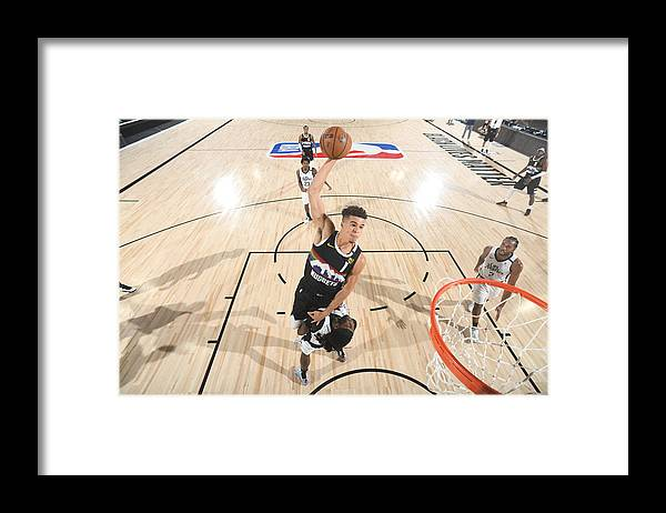 Playoffs Framed Print featuring the photograph LA Clippers v Denver Nuggets - Game Three by Andrew D. Bernstein