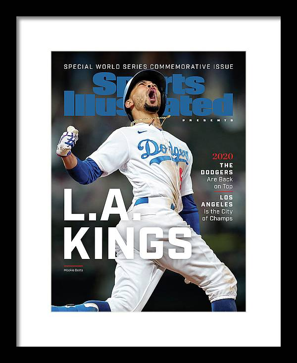 Mlb Framed Print featuring the photograph Los Angeles Dodgers Special World Series Commemorative Sports Illustrated Cover by Sports Illustrated